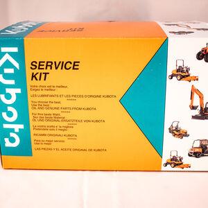1000h Service Kit (filtration moteur + hydraulique) pour KX080-4